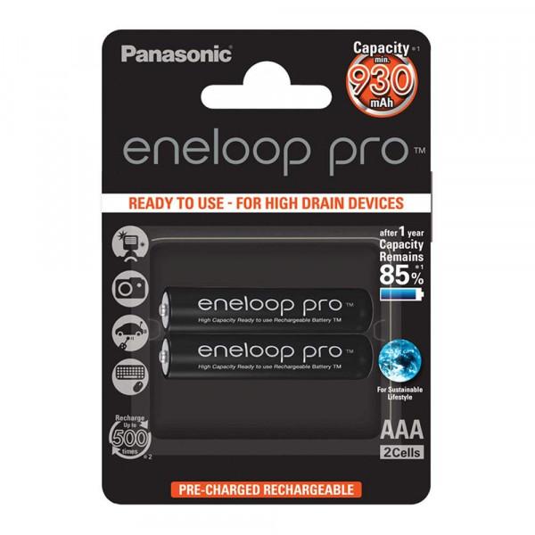 Panasonic Eneloop Pro 2x AAA 930mAh