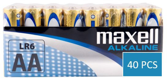 Maxell 40x LR6 (AA) 2erShrink