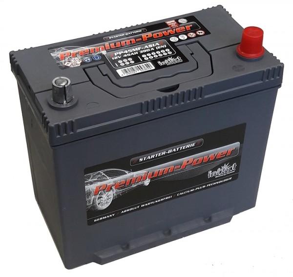Intact Premium Power Asia 12 V 45 AH (c20) 390 A (EN) GUG