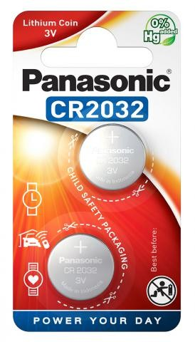 Panasonic Lithium Power 2x CR2032