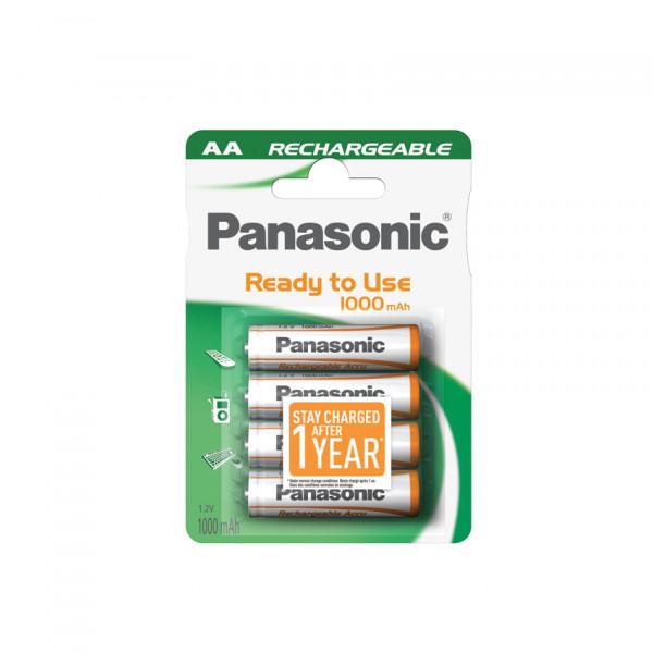 Panasonic DECT Akku 4x LR6 (AA) 1000mAh