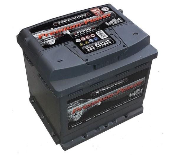 Intact Premium Power 12 V 50 AH (c20) 540 A (EN)  GUG