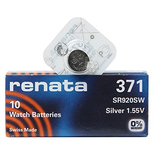 Renata Watch 371 (10x/Pack)