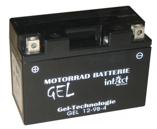 Intact Bike Power Gel - GEL12-9B-4 MoBa 12 V 8 AH (c20) 170 A (EN), YT9B-4, GT9B-4