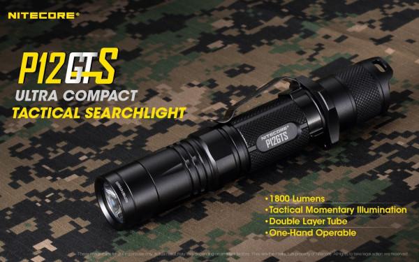 Nitecore LED-Taschenlampe P12GTS