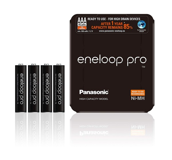 Panasonic Eneloop Pro 4x AAA 930mAh  -Sliding Pack