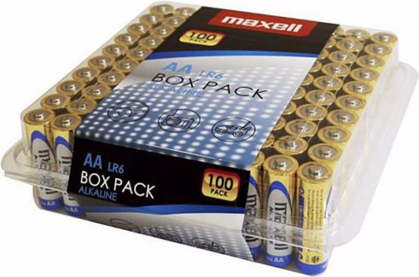 Maxell 100x LR6 (AA)