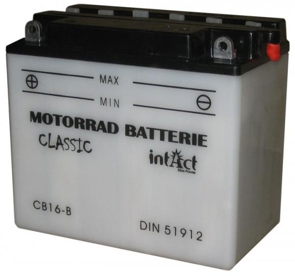 Intact Bike Power Classic - 51912S MoBa 12 V 19 AH (c20) 190 A (EN), CB16-B