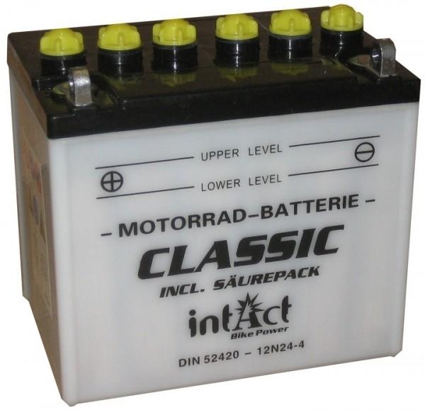 Intact Bike Power Classic - 52420S MoBa 12 V 24 AH (c20) 220 A (EN), 12N24-4