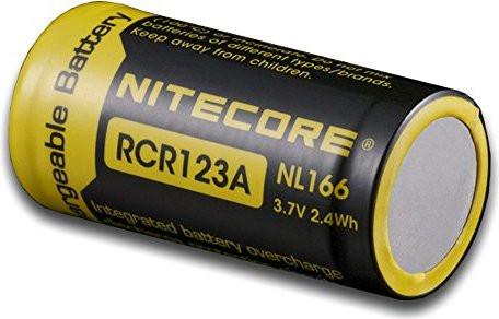 Nitecore Li-Ion Akku RCR123A Typ 16340 NL166