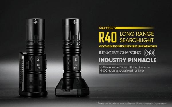 Nitecore LED-Taschenlampe R40