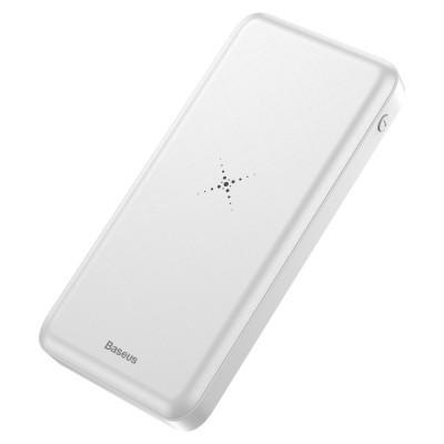 Baseus Wireless Charger Powerbank 10000mAh White
