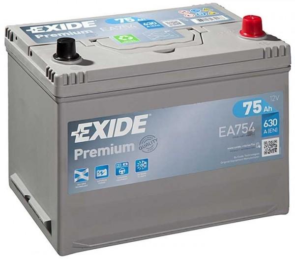 Exide Premium Asia 12 V 75 AH (c20) 630 A (EN)  GUG
