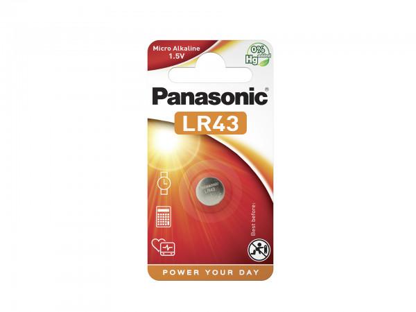 Panasonic Micro Alkaline 1x LR43