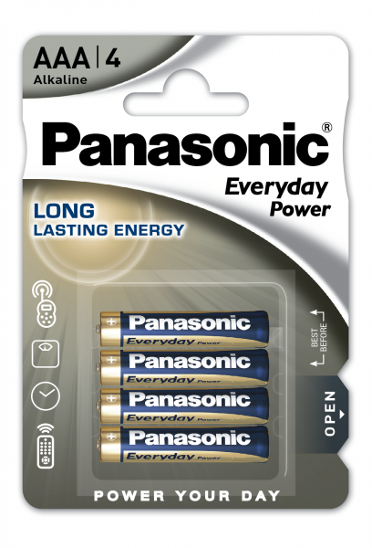 Panasonic Everyday 4x LR03 (AAA)