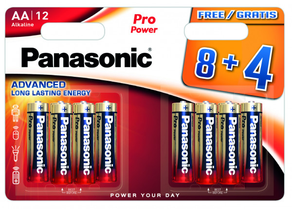 Panasonic Pro Power 12x LR6 (AA)