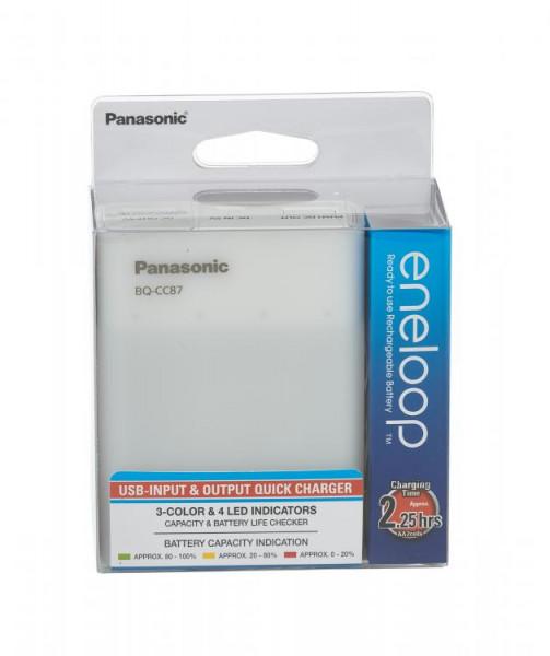 Panasonic Eneloop USB Charger & Powerbank BQ-CC87