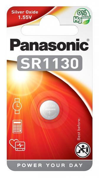 Panasonic SR1130 (Silberoxid/Uhrenbatterien)