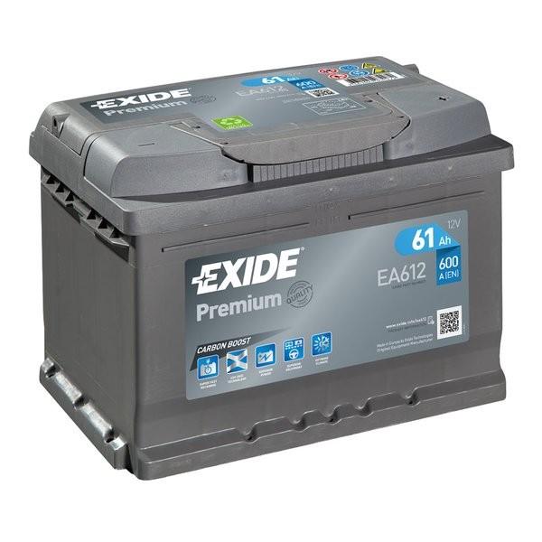 Exide Premium 12 V 61 AH (c20) 600 A (EN)  GUG