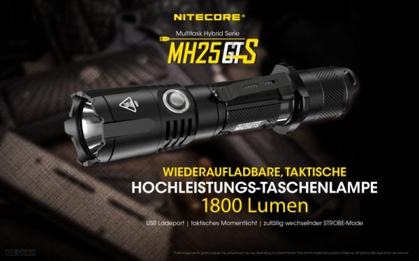 Nitecore LED-Taschenlampe MH25GTS