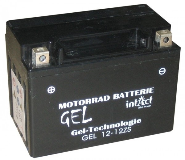 Intact Bike Power Gel - GEL12-12Z-S MoBa 12 V 11 AH (c20) 210 A (EN), YTZ12-S