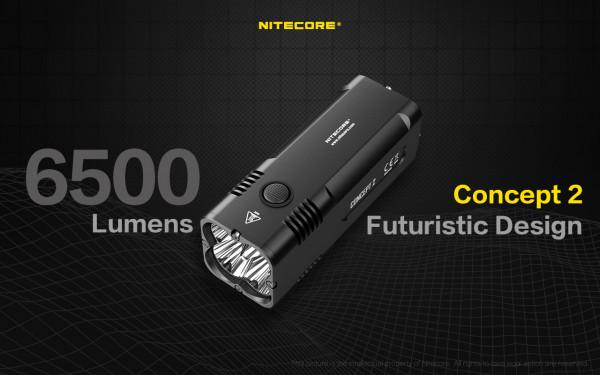 Nitecore LED-Taschenlampe Concept 2