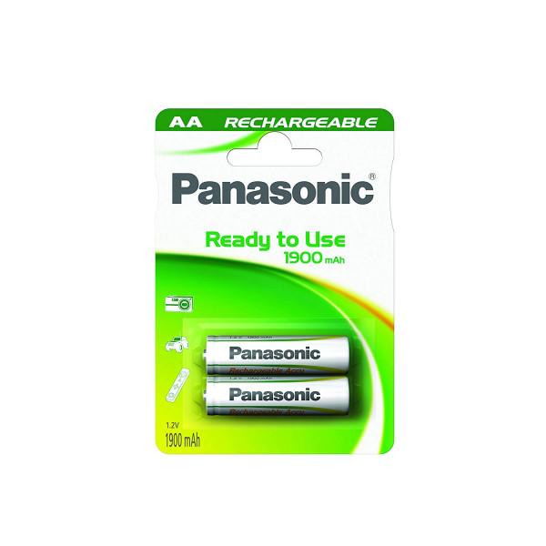 Panasonic Akku 2x LR6 (AA) 1900mAh