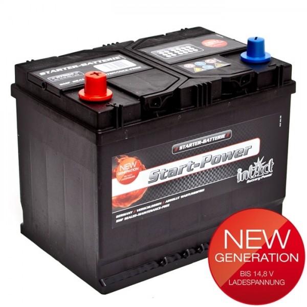 Intact Start Power Asia 12 V 70 AH (c20) 550 A (EN)  GUG