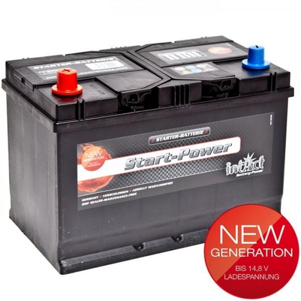 Intact Start Power Asia 12 V 100 AH (c20) 830 A (EN)  GUG