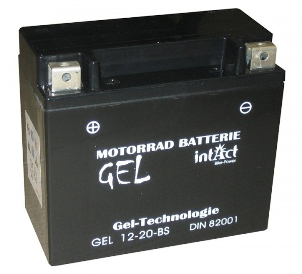 Intact Bike Power Gel - GEL12-20-BS MoBa 12 V 18 AH (c20) 300 A (EN), YTX20-BS, 82001