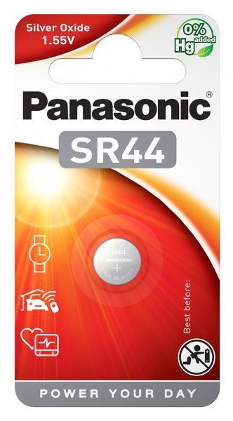 Panasonic SR44 (Silberoxid/Uhrenbatterien)