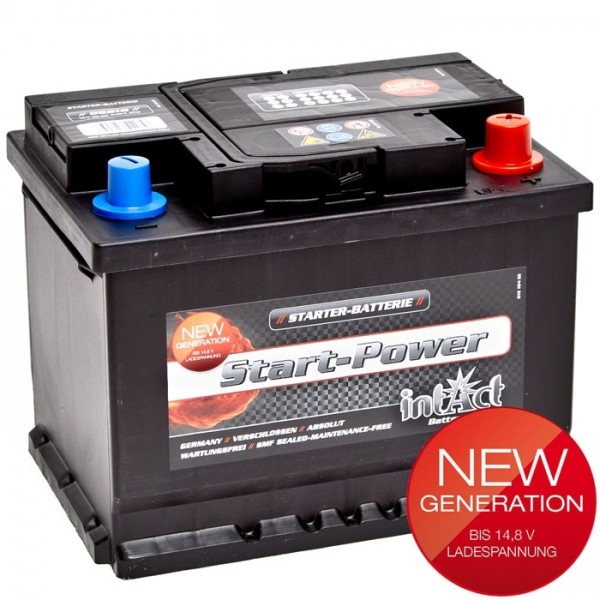 Intact Start Power 12 V 62 AH (c20) 540 A (EN)  GUG