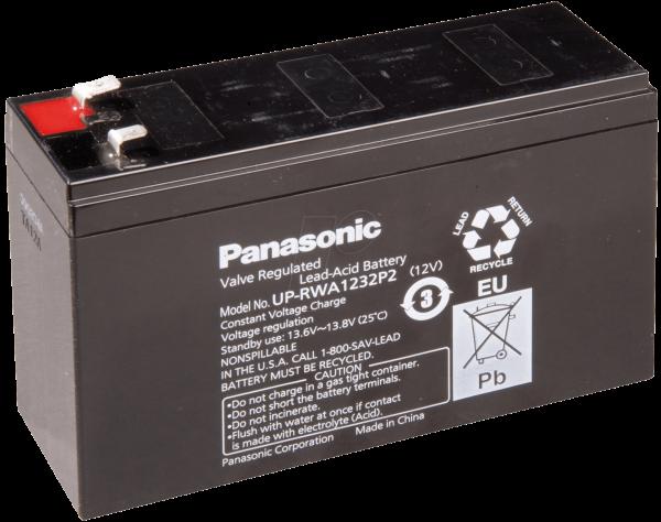 Panasonic Blei Akku UP-VWA1232/P2